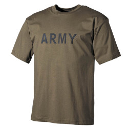 "Tee-shirt ""ARMY"" Kaki"
