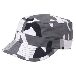 Casquette RIPSTOP Camouflage Urbain gris