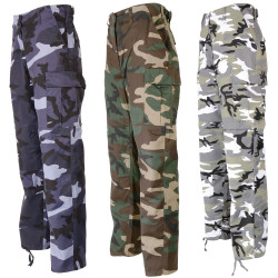 Pantalon BDU camo MIX