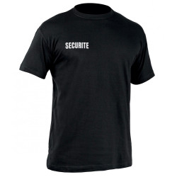 Tee-shirt Strong SECURITE noir