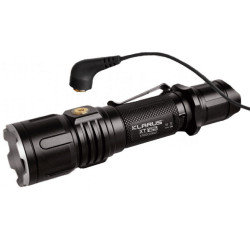 Lampe tactique rechargeable XT12S LED - 1600 Lumens