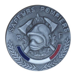 MEDAILLE SAPEURS POMPIERS RELIEF