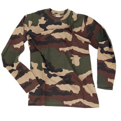 Tee shirt manches longues camo