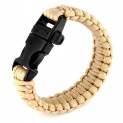 Bracelet Paracord Tan 01