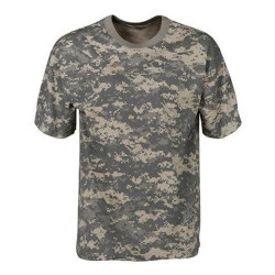 Tee shirt digicam camouflage