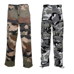 Pantalon BDU enfant camo Mix